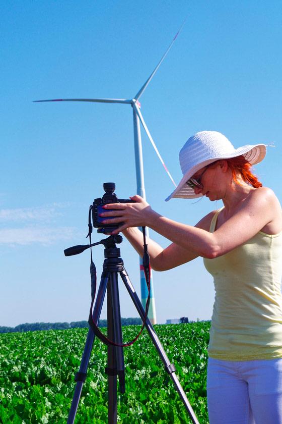 EnergieSüdwest AG, Strom, Fotoshooting, Aufbau