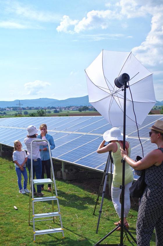 EnergieSüdwest AG, Strom, Fotoshooting, Make Up