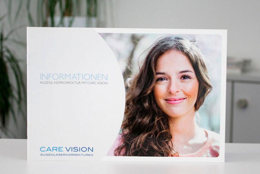CARE Vision Broschüre, Information