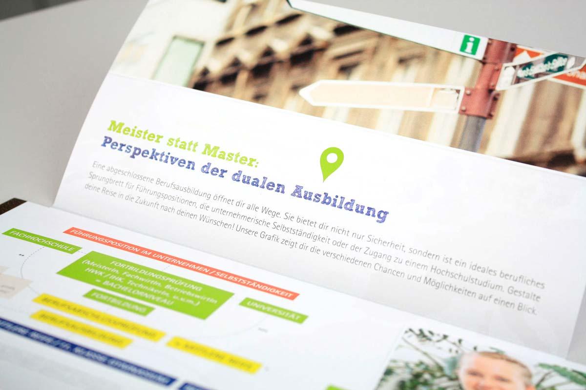 IHK Pfalz -Werbemittel, Folder