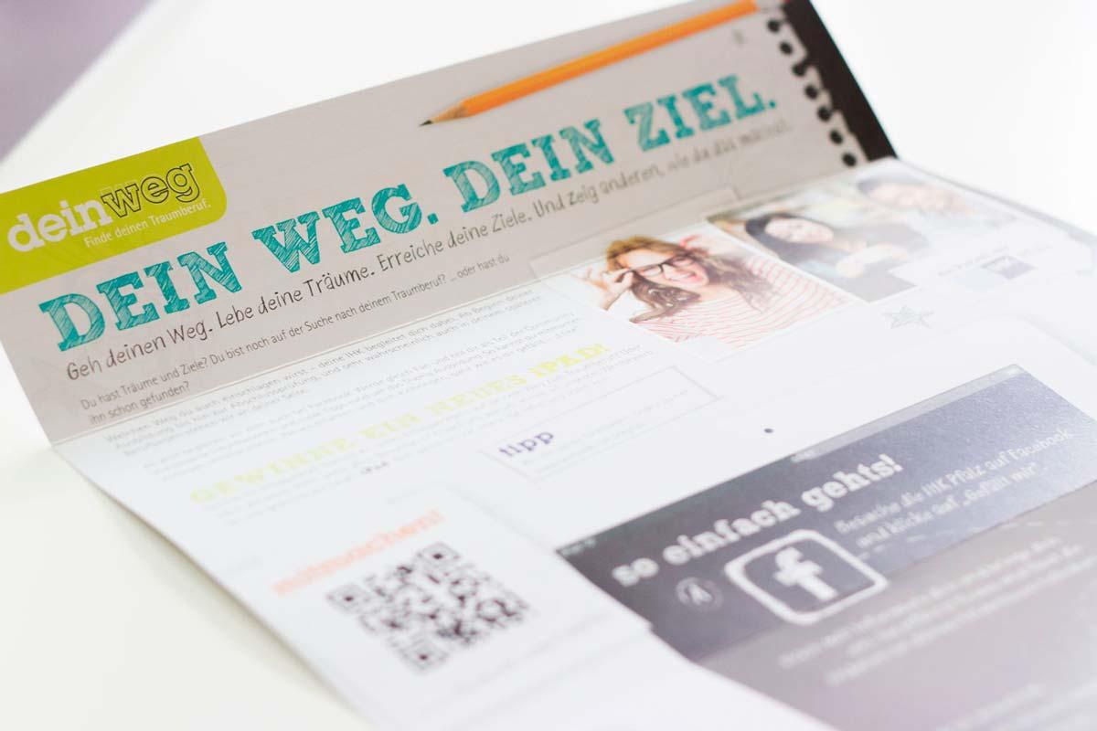 IHK Pfalz -Werbemittel, Mailing
