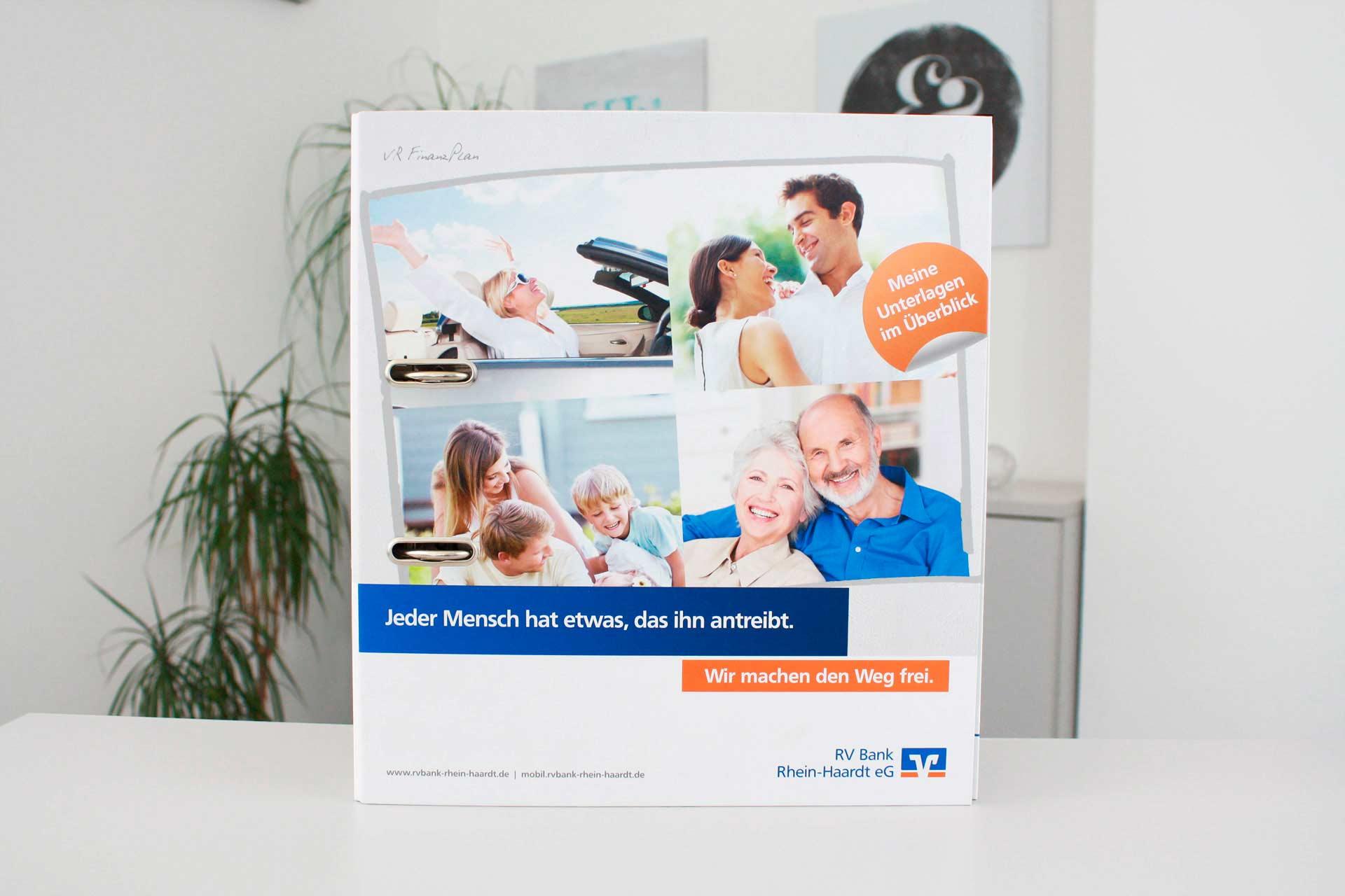 RV Bank Rhein-Haardt eG Ordner