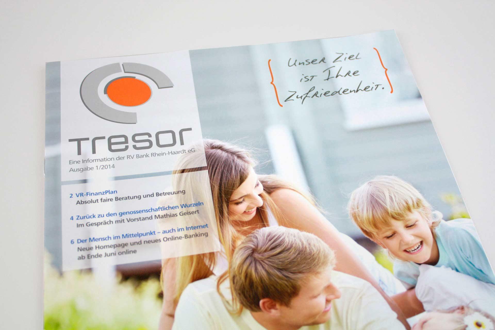 Kundenmagazin, Unternehmenskommunikation, Corporate Communications der Bank - MATRICKS MARKETING