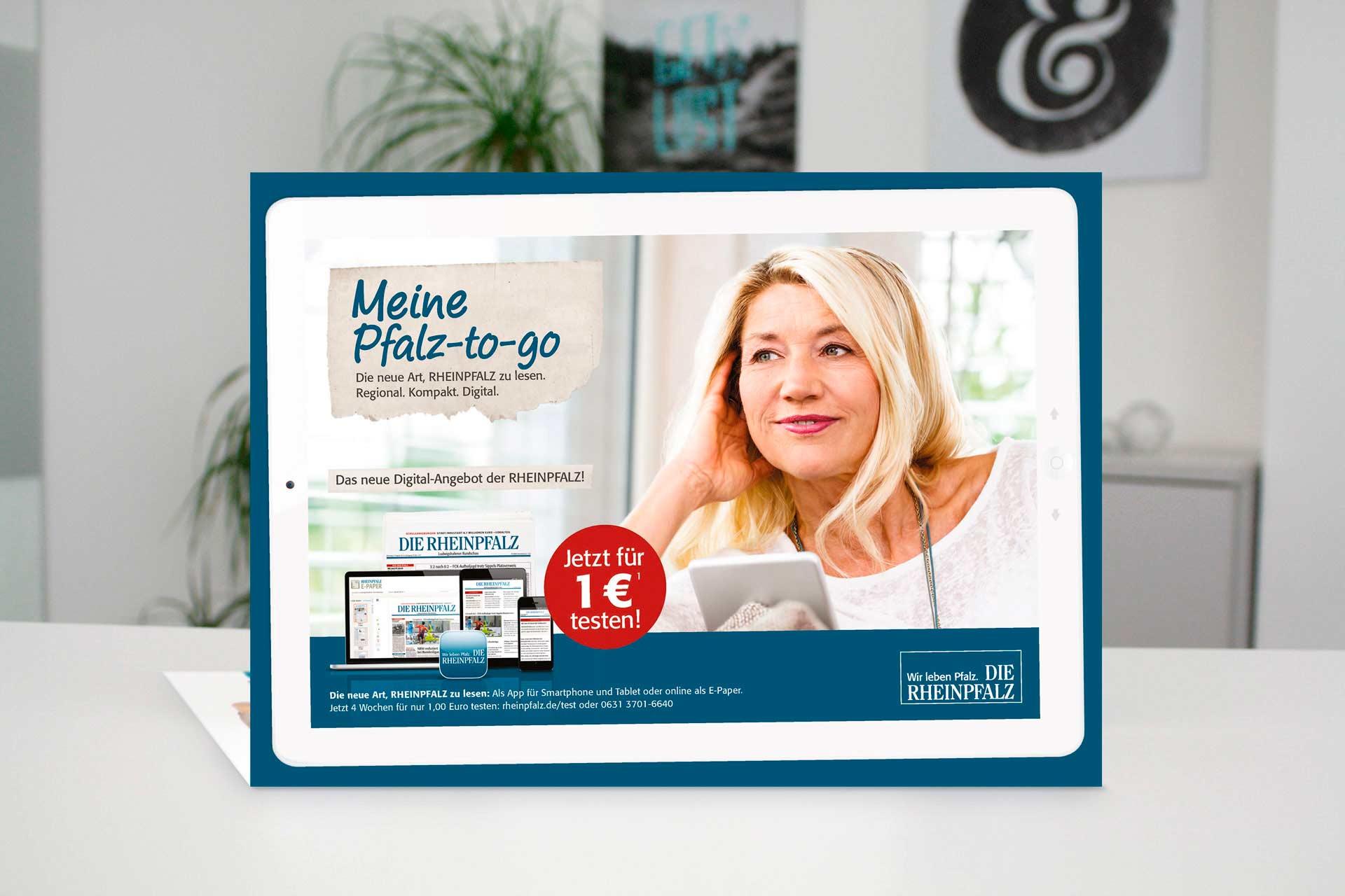 DIE RHEINPFALZ Meine Pfalz-to-go Mailing