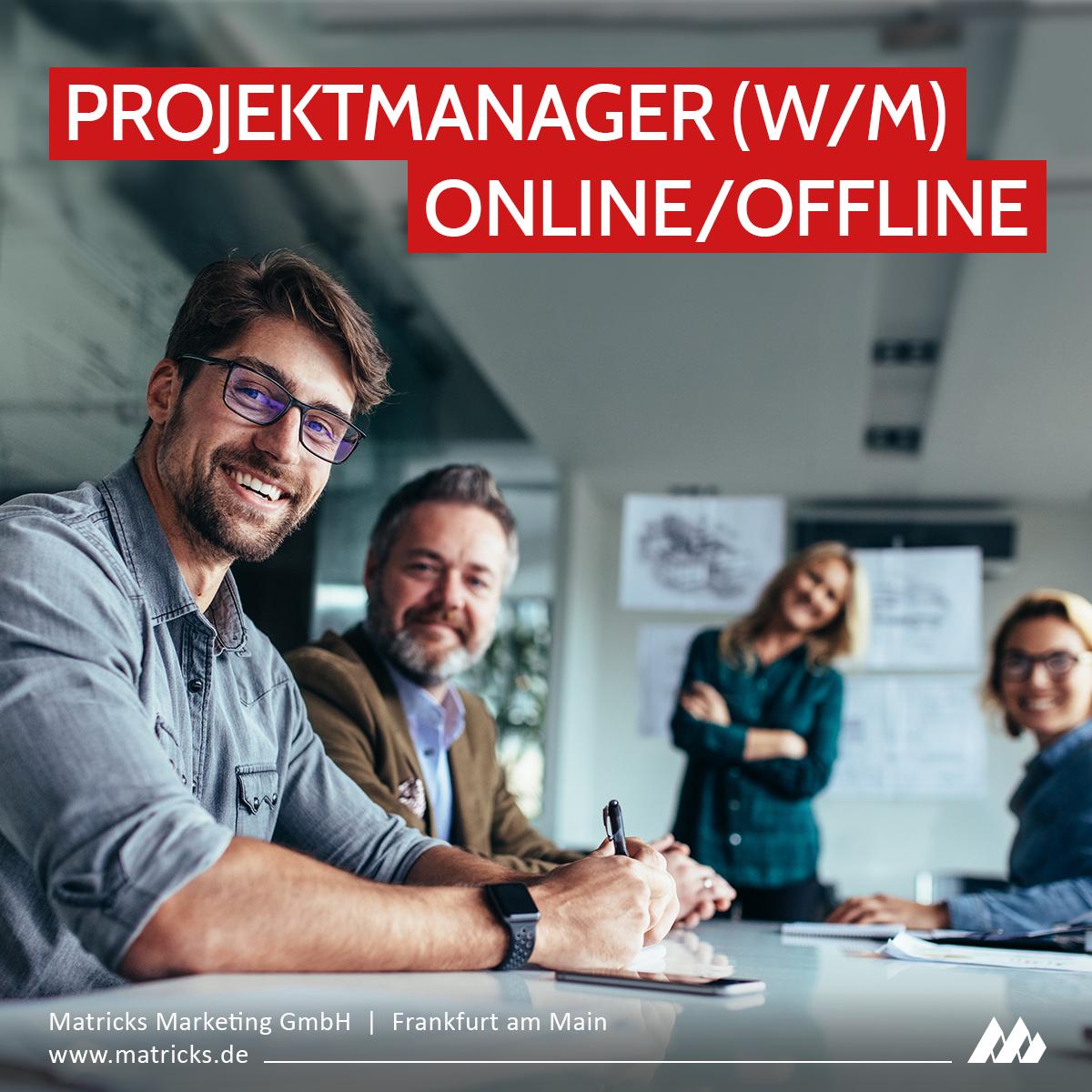 Stellenausschreibung Projektmanagement Werbeagentur Frankfurt